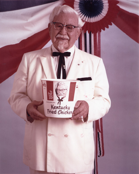 Colonel-Sanders-and-Kentucky-Fried-Chick