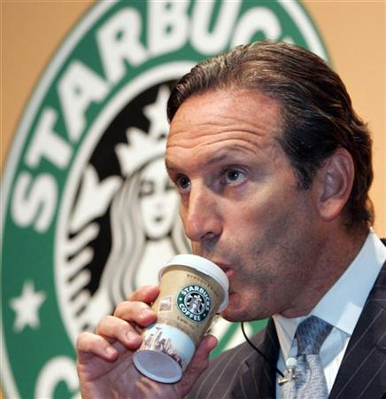 The success story of starbucks ceo howard schultz for Who are the owners of starbucks